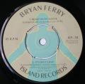 Bryan Ferry-Price Of Love / Shame, Shame, Shame