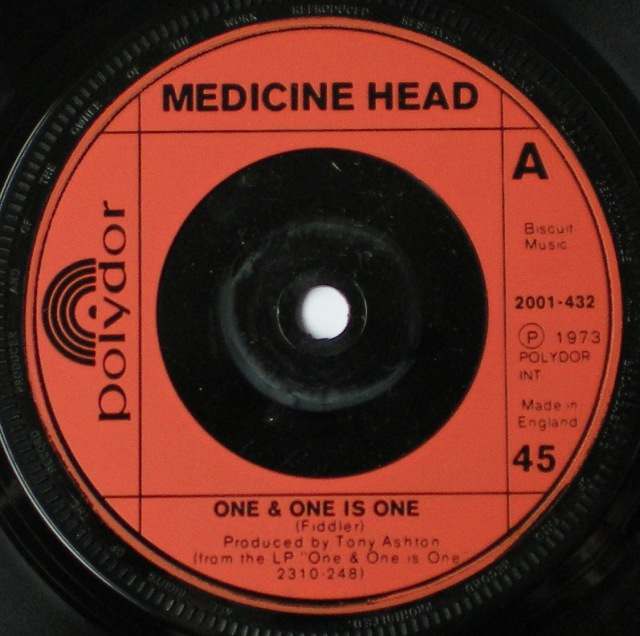 Medicine Head One Amp One Is One Out On The Street