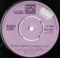 Mungoo Jerry-Alright, Alright, Alright / Little Miss Hipshake