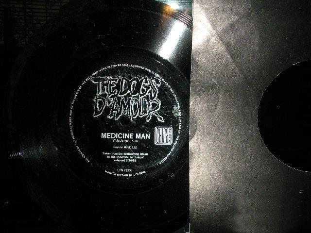 "Dogs D'Amour, The: Medicine Man - Vinyl(45"" Single)"