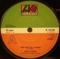 Jackie Carter-Treat Me Like A Woman / Mama Don't Wait For Me