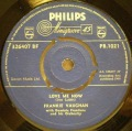 Frankie Vaughan-I  Was A Fool / Love Me Now