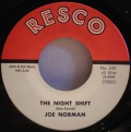 Joe Norman-Slipping Around / The Night Shift