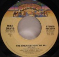 Mac Davis-It's Hard To Be Humble / The Greatest Gift Of All
