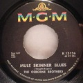 Osborne Brothers, The-Mule Skinner Blues / Lovey Told Me Goodby