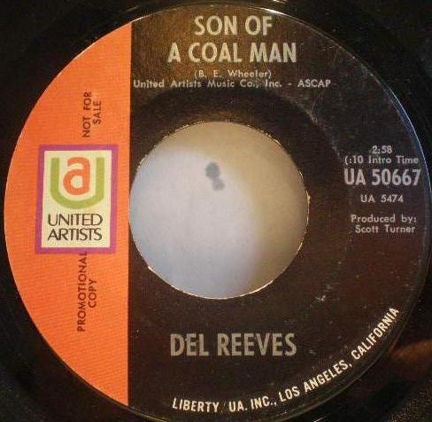 "Del Reeves: Son Of A Coal Man - Vinyl(45"" Single)"