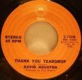 David Houston-The Lady Of The Night / Thank You Teardrop