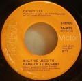 Dickey Lee-I Saw My Lady / What We Used To Hang On To (Is Gone)