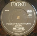 Eurythmics-It's Alright (Baby's Coming Back) / Conditioned Soul