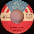 Guy Drake-Welfare Cadilac / Keep Off My Grass