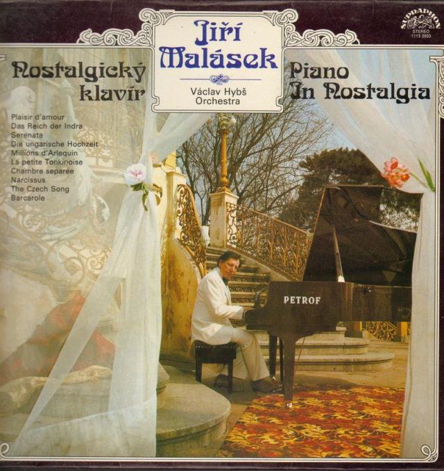 """Jiri Malasek: Nostalgicky klavir - Vinyl(33"""" LP)"""