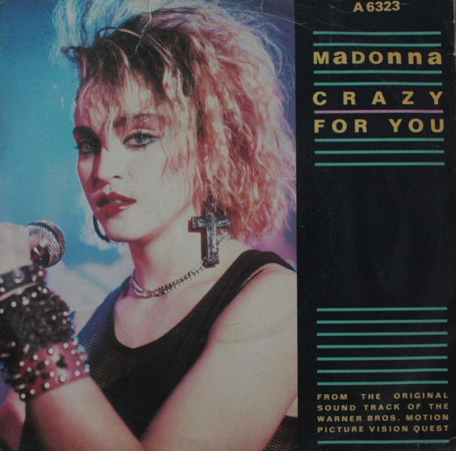 """Madonna: Crazy for you / I´ll fall in love again - Vinyl(45"""" Single)"""