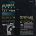 Madonna-Crazy for you / I´ll fall in love again