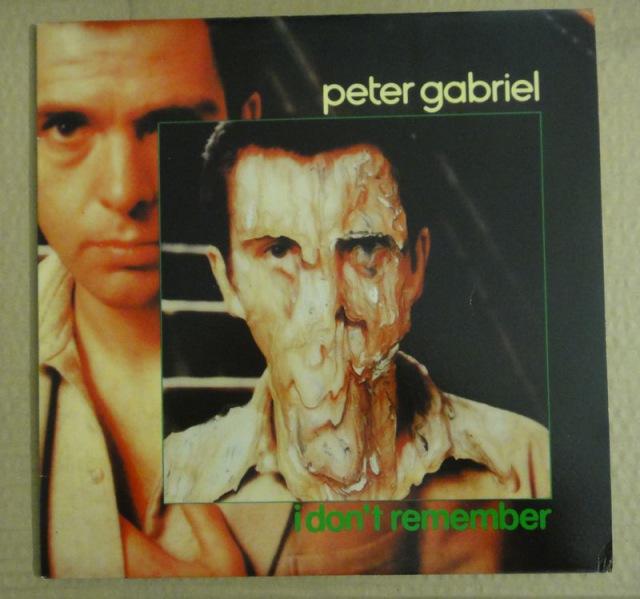 """Peter Gabriel: i don't remember - Vinyl(12"""" Maxi)"""