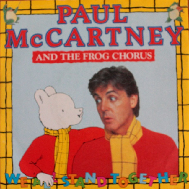 """Paul McCartney: We All Stand Together (And The Frog Chorus)/We All Stand Together (HummingVersion) - Vinyl(45"""" Single)"""