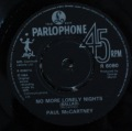 Paul McCartney-No More Lonely Nigths(ballad)/No More Lonely Nights (playout version)