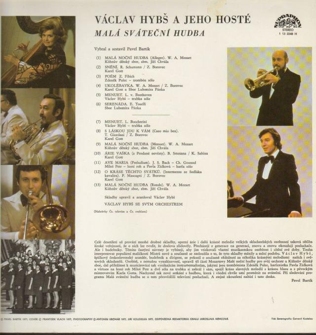 Vaclav Hybs A Jeho Hoste 2 Mala Svatecni Hudba Online