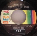 Brenda Lee-Johnny One Time / I Must Have Been Out Of My Mind
