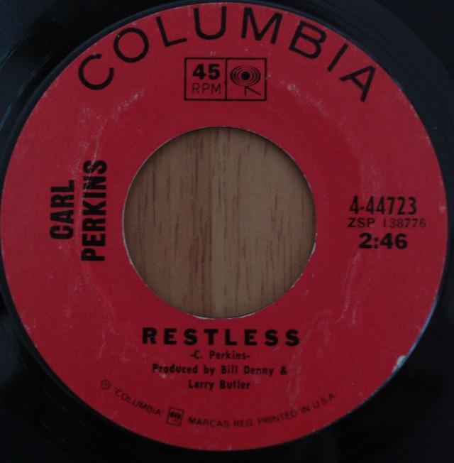 "Carl Perkins: Restless / 1143 - Vinyl(45"" Single)"