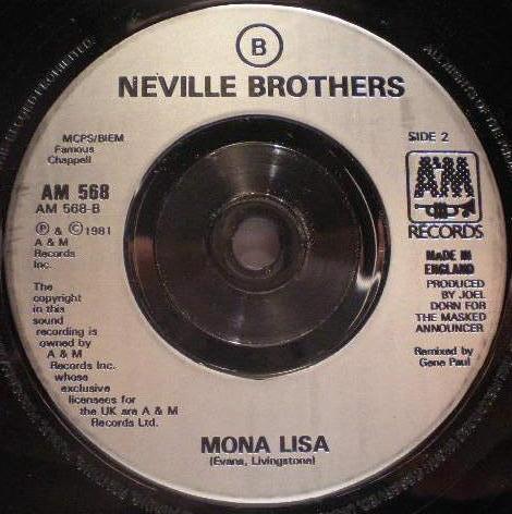 Neville Brothers Bird On A Wire Mona Lisa Online Vinyl