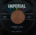 Rick Nelson-I need you / It´s up to you