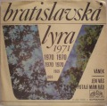 Viktor Sodoma / Jaromír Mayer-Bratislavská Lyra 1971