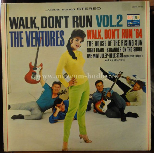 Ventures Walk Don't Run Ventures-walk Don't Run Vol