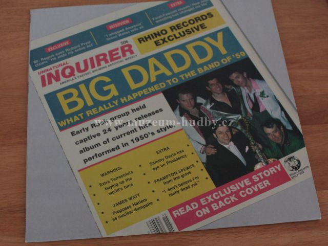 """Big Daddy: Big Daddy aka What Really Happened To The Band Of '59 - Vinyl(33"""" LP)"""