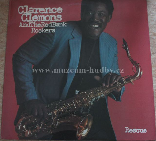 """Clarence Clemons & the Red Bank Rockers: Rescue - Vinyl(33"""" LP)"""