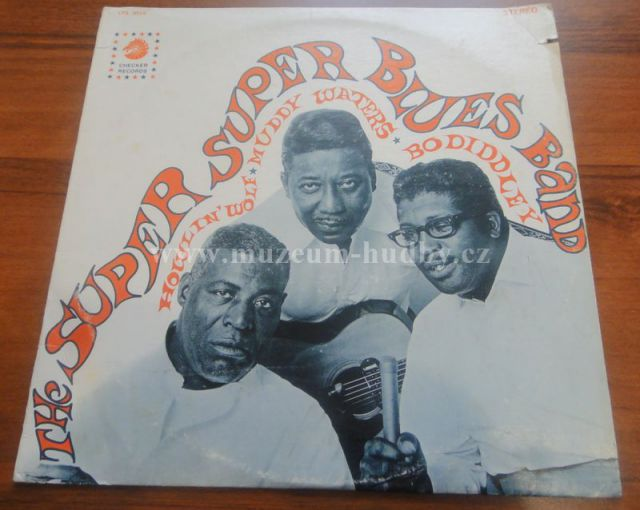 """HOWLIN WOLF,MUDDY WATERS ,BO DIDDLEY: THE SUPER SUPER BLUES BAND - Vinyl(33"""" LP)"""