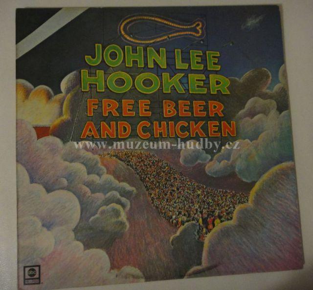 John Lee Hooker Free Beer And Chicken Online Vinyl Shop