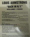 Louis Armstrong-BACK IN N.Y. VOL 1