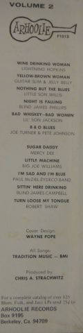 Lightnin Hopkins, Guitar Slim, Jelly Belly, Little Son Wills, Blind James Phillips [seal, zalepená]-blues n' trouble volume 2