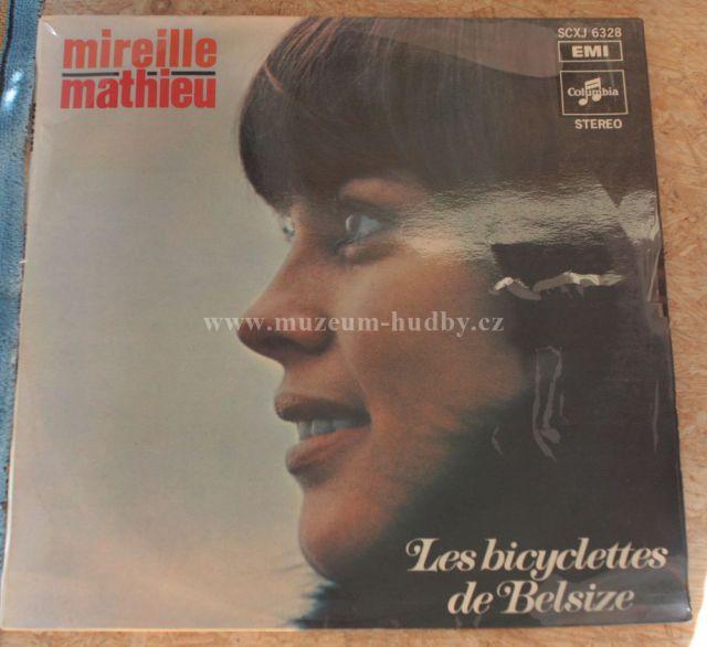 """Mireille Mathieu: Les bicyclettes de Belsize - Vinyl(33"""" LP)"""