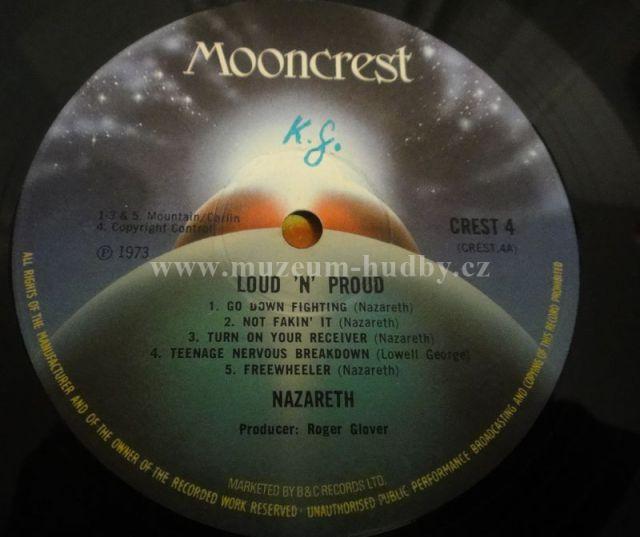 Nazareth Loud N Proud Online Vinyl Shop Gramofonov 233 Desky
