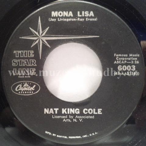 Nat King Cole Mona Lisa Too Young Online Vinyl Shop