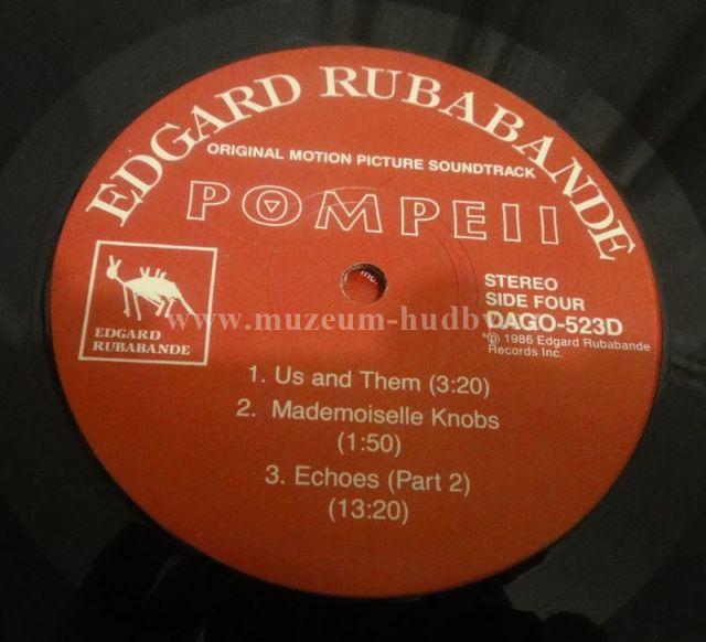 Pink Floyd-Pompeii - Product detail | online vinyl shop