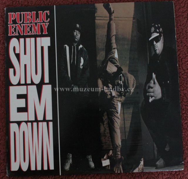 """Public Enemy: Shot Em Down - Vinyl(33"""" LP)"""