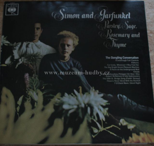 "Simon and Garfunkel: Parsley, Sage, Rosemary and Thyme - Vinyl(33"" LP)"