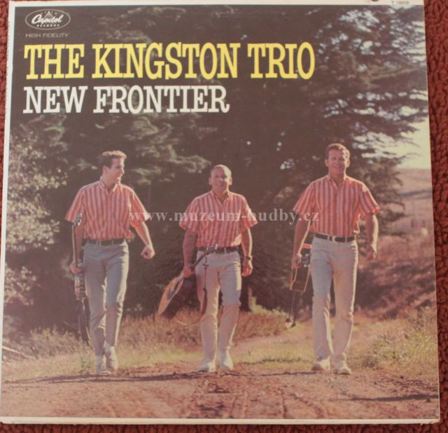 "The Kingston Trio: New Frontier - Vinyl(33"" LP)"