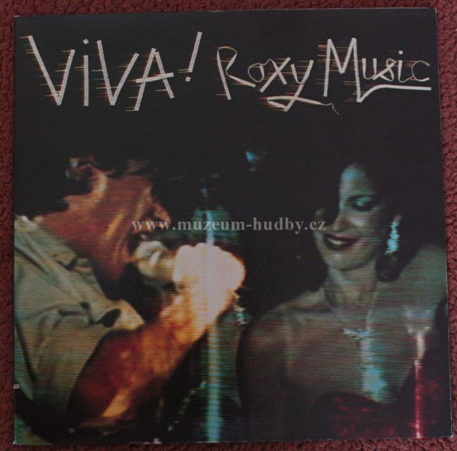 "Viva! Roxy Music: The Live Roxy Music Album - Vinyl(33"" LP)"