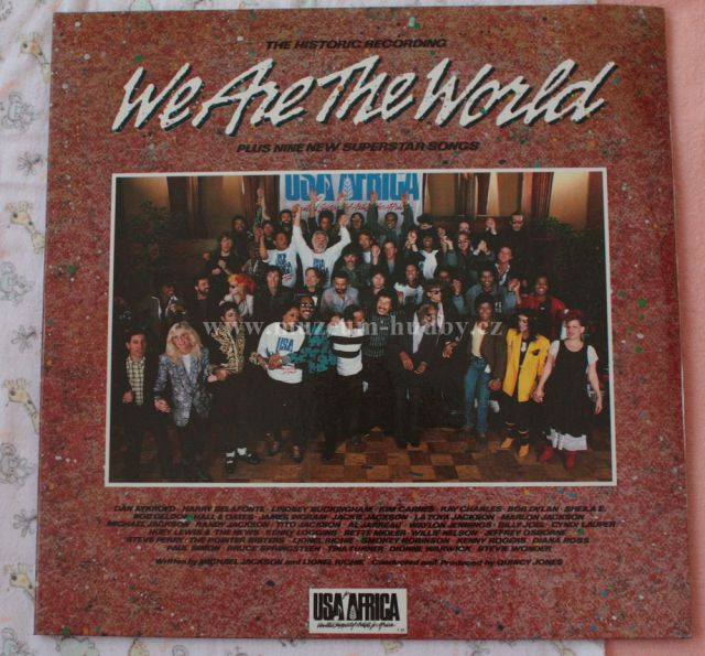 """We Are the World: We Are the World - Vinyl(33"""" LP)"""
