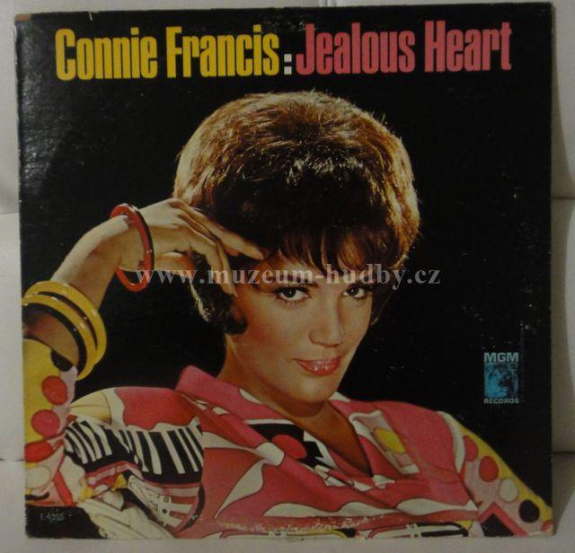 """Connie Francis: Jealous Heart - Vinyl(33"""" LP)"""