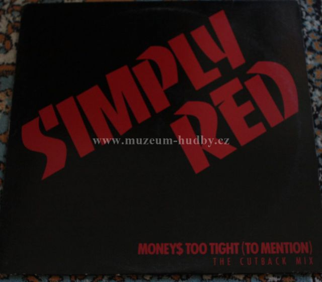 """Simply Red: Money's Too Tight (To Mention) - Vinyl(33"""" LP)"""