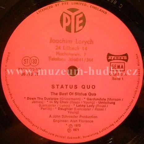 Status Quo The Best Of Status Quo Online Vinyl Shop