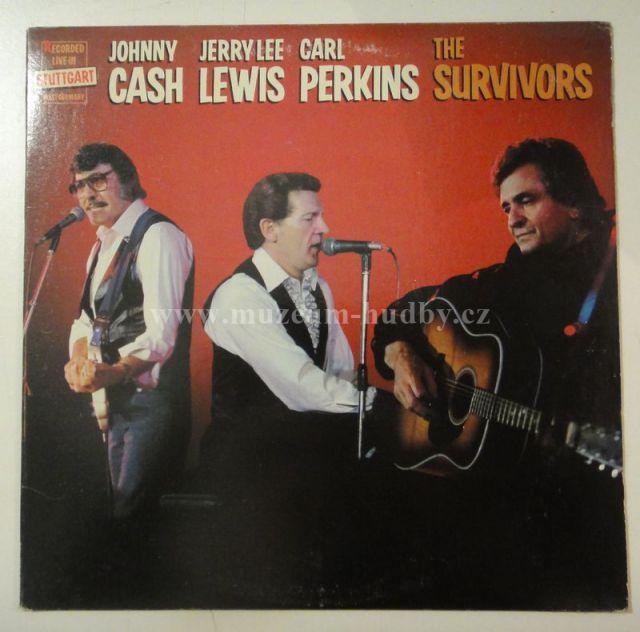 """Johnny Cash / Jerry Lee Lewis / Carl Perkins: The Survivors - Vinyl(33"""" LP)"""