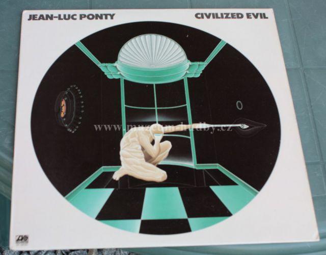"""Jean-Luc Ponty: Civilized Evil - Vinyl(33"""" LP)"""