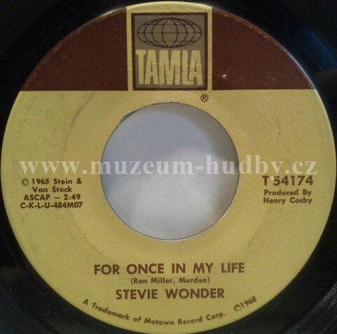 Stevie Wonder For Once In My Life Angie Girl Online