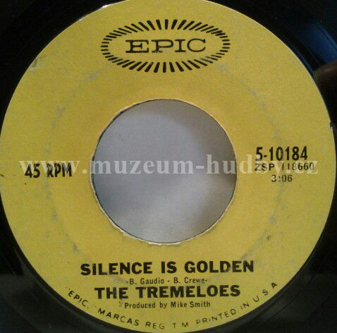 Tremeloes The Let Your Hair Hang Down Silence Is Golden