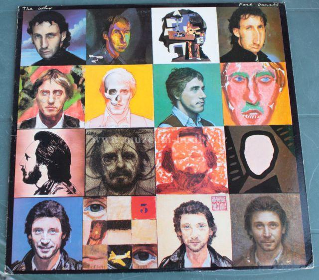 """The Who: Face Dances - Vinyl(33"""" LP)"""
